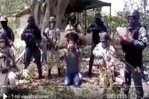 VIDEO: CJNG interroga a sicario del Abuelo Farías, el narco que derrotó al Mencho