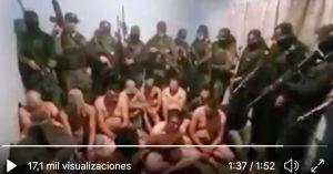 VIDEO: Cártel de Sinaloa, desnuda, interroga y mata con tiro de gracia a 15 del CJNG