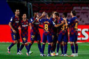 El Barcelona sufrió, pero derrotó al Leganés de Javier Aguirre gracias a Ansu Fati y claro, a Leo Messi