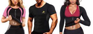 Las 5 camisetas de compresión estilo sauna que necesitas para bajar de peso