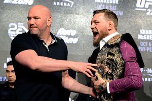 """Nadie está presionando para pelear"": Dana White responde al retiro de Conor McGregor"