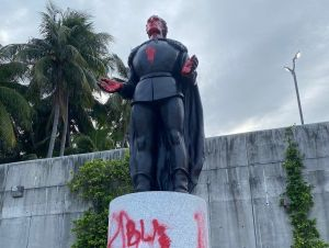 California retira la estatua de Colón del Capitolio Estatal
