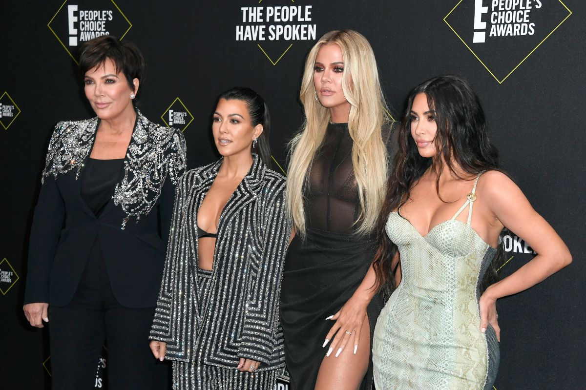 Kris Jenner, Kourtney, Khloé y Kim Kardashian.