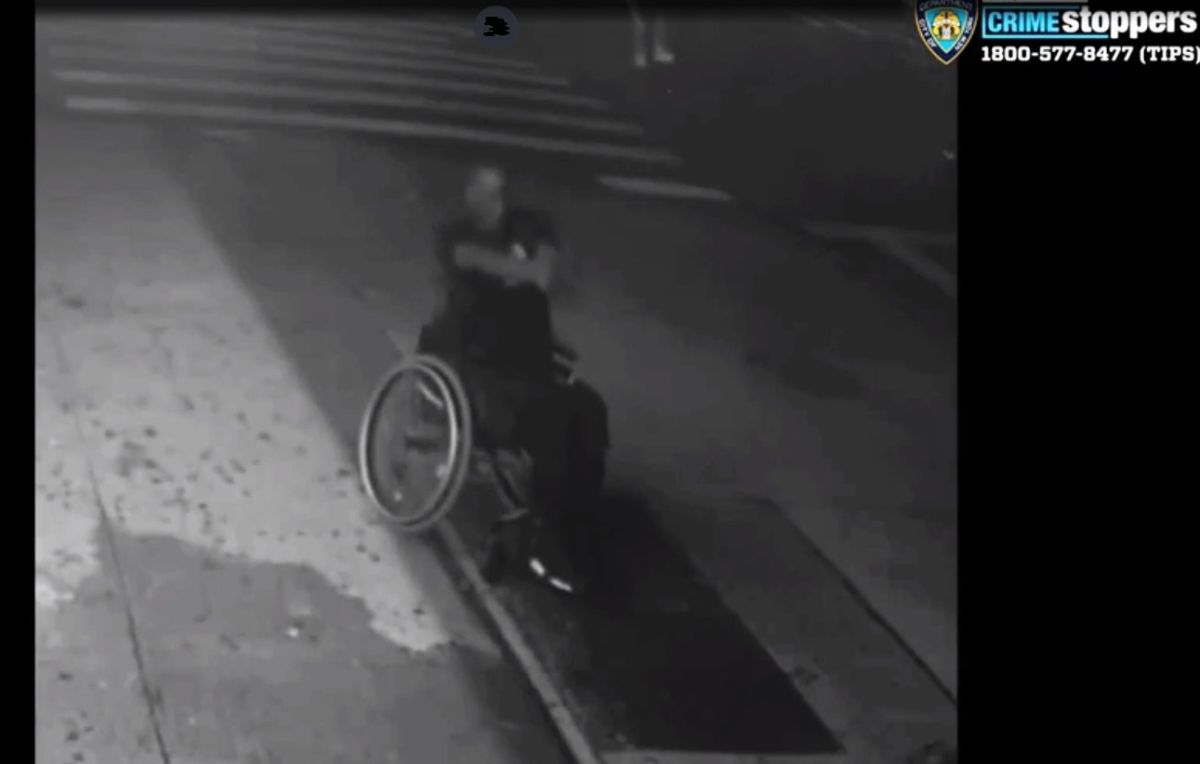 Hasta desde una silla de ruedas disparan en Nueva York: 503 balaceras  y 605 víctimas en lo que va de 2020