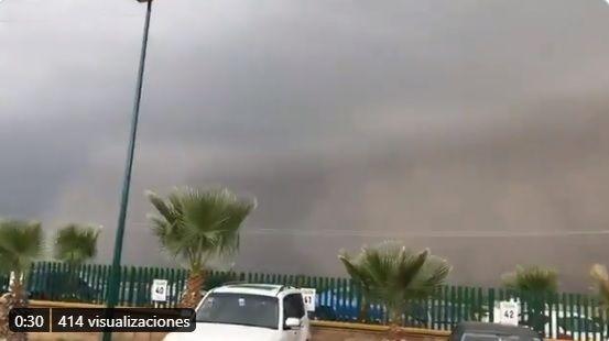 VIDEO: ¿Polvo del Sahara en Torreón? No, es una fuerte tolvanera