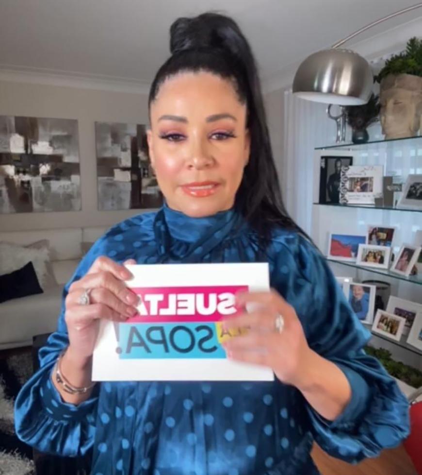 Pese a que tenía las tarjetas de 'Suelta La Sopa', Carolina no salió al aire en el show