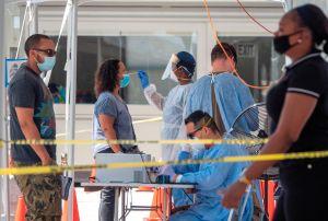 ¿Hasta cuándo aguantará Miami el dramático incremento de casos de coronavirus?