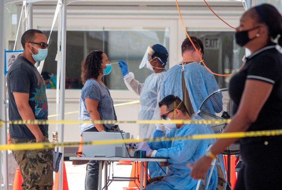 Los records de California, Florida y Texas en el repunte del coronavirus en Estados Unidos