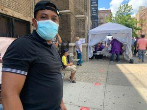 Abren sitio temporal de pruebas de COVID-19 en El Bronx para contrarrestar disparo de contagios