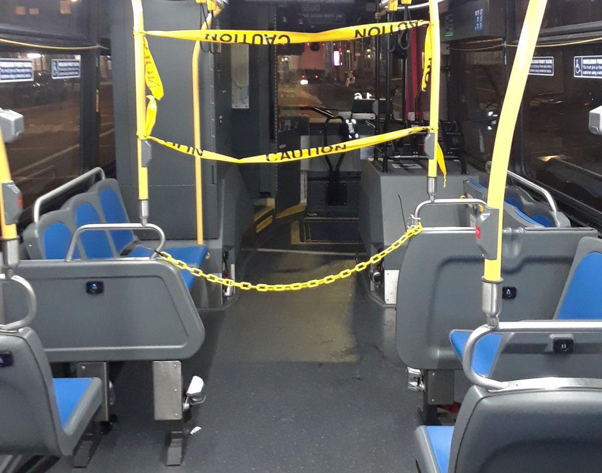 Anciana hispana fue baleada en la cara viajando en bus de Nueva York