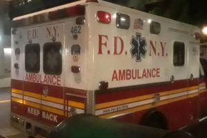 Auto de lujo BMW huyó tras arrollar fatalmente a un hombre en Brooklyn