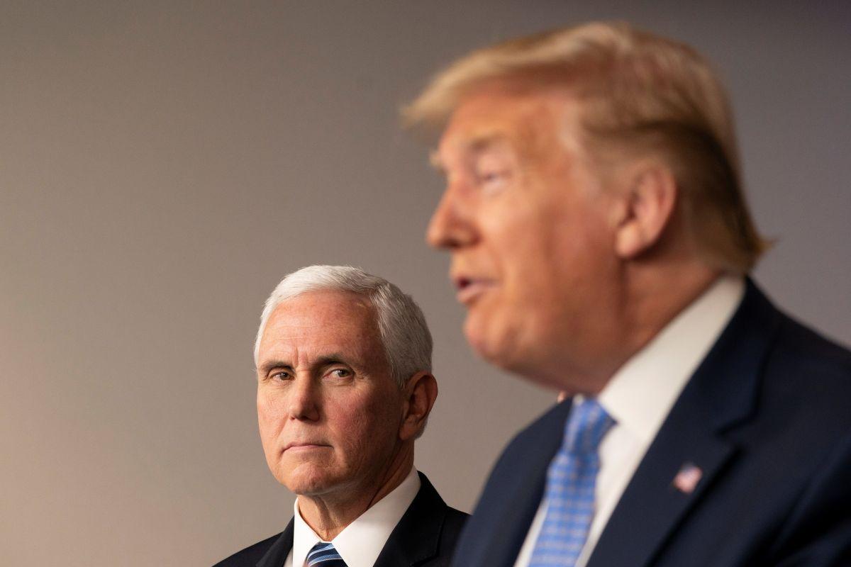 """Trump habría visto algo bueno en el coronavirus: no dar la mano a """"gente desagradable"""""""