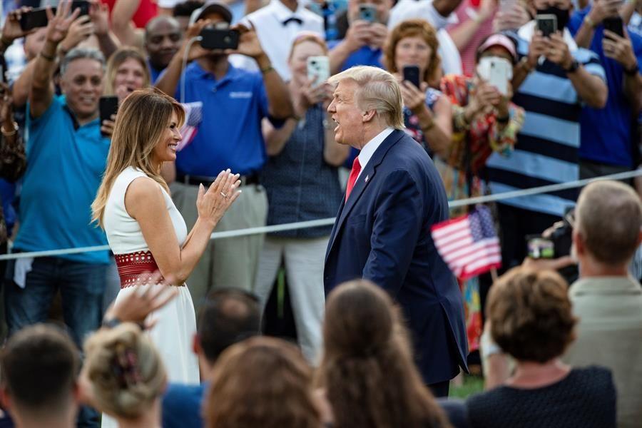 Trump celebra el Día de la Independencia de EE.UU. con ataque a opositores de su gobierno