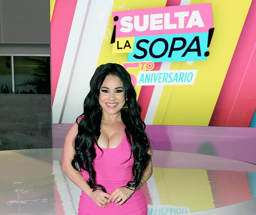 Confirmado: Carolina Sandoval queda fuera de 'Suelta la Sopa' y Telemundo