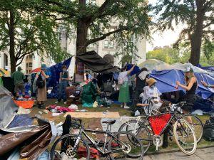 Alcalde defiende desmantelamiento de 'Occupy City Hall' por ser inseguro y peligroso para la salud