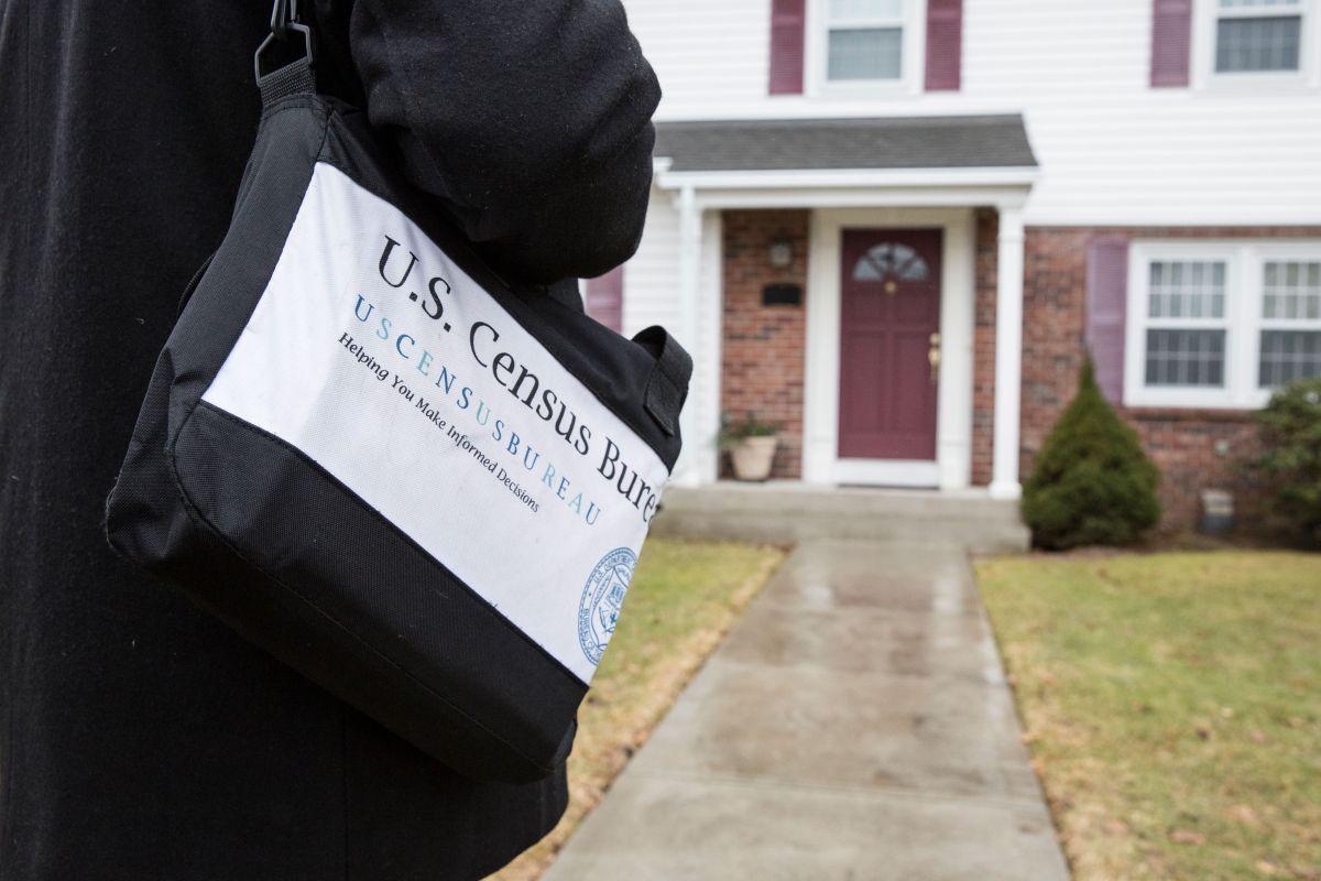Los trabajadores del Censo visitarán los hogares que no han participado.