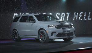 Fiat Chrysler presenta la Dodge Durango Hellcat como el SUV más poderoso de todos