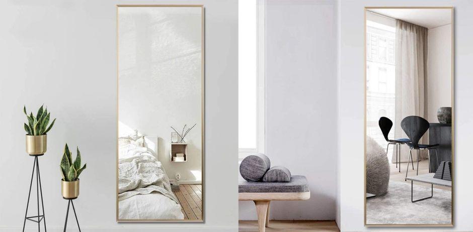 5 espejos largos para poder mirarte bien y por completo todos los días antes de salir