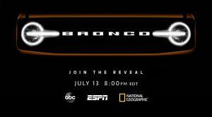 Ford se asocia con Disney para la presentación única de su nueva Bronco