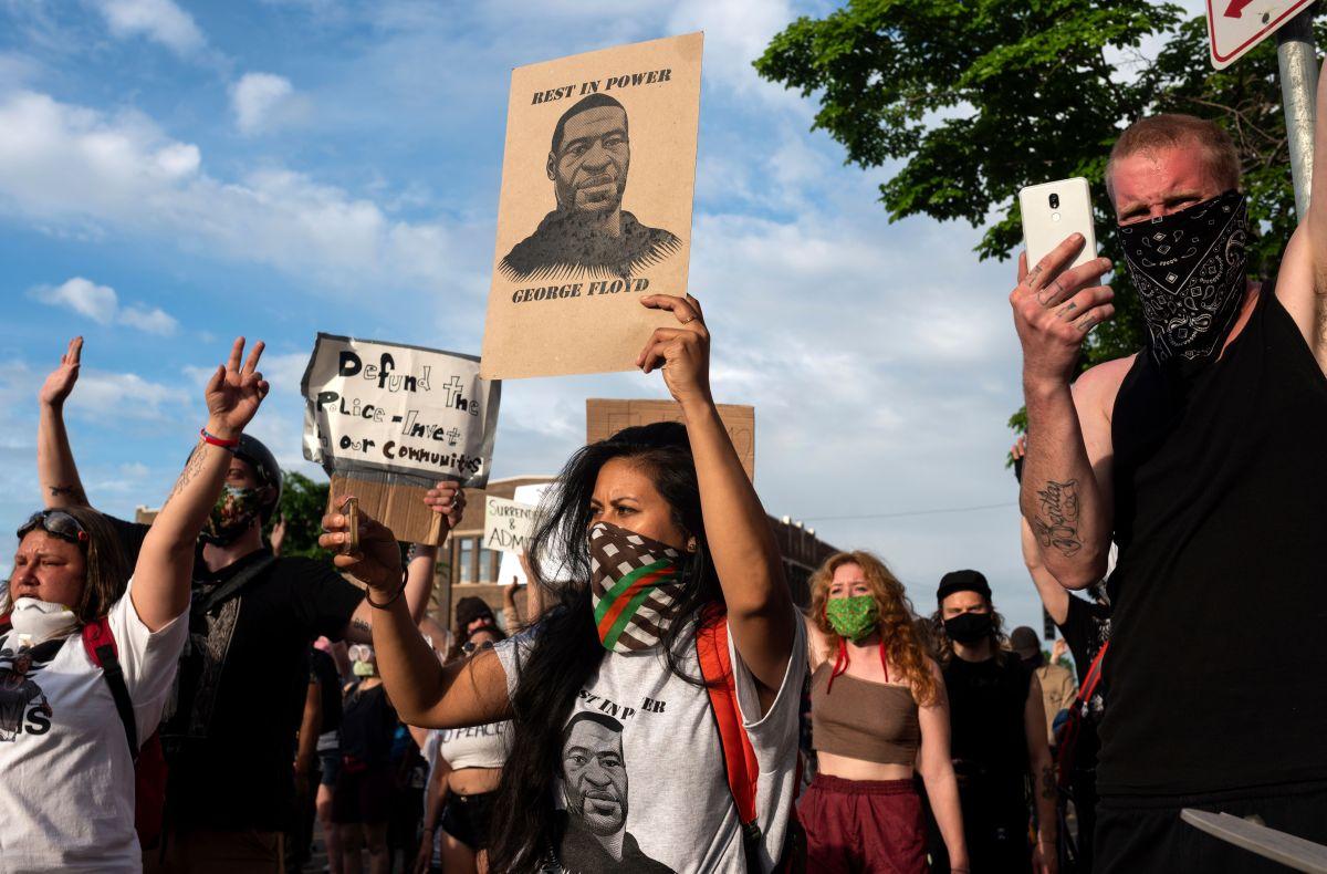 La muerte de George Floyd generó protestas en todo Estados Unidos.