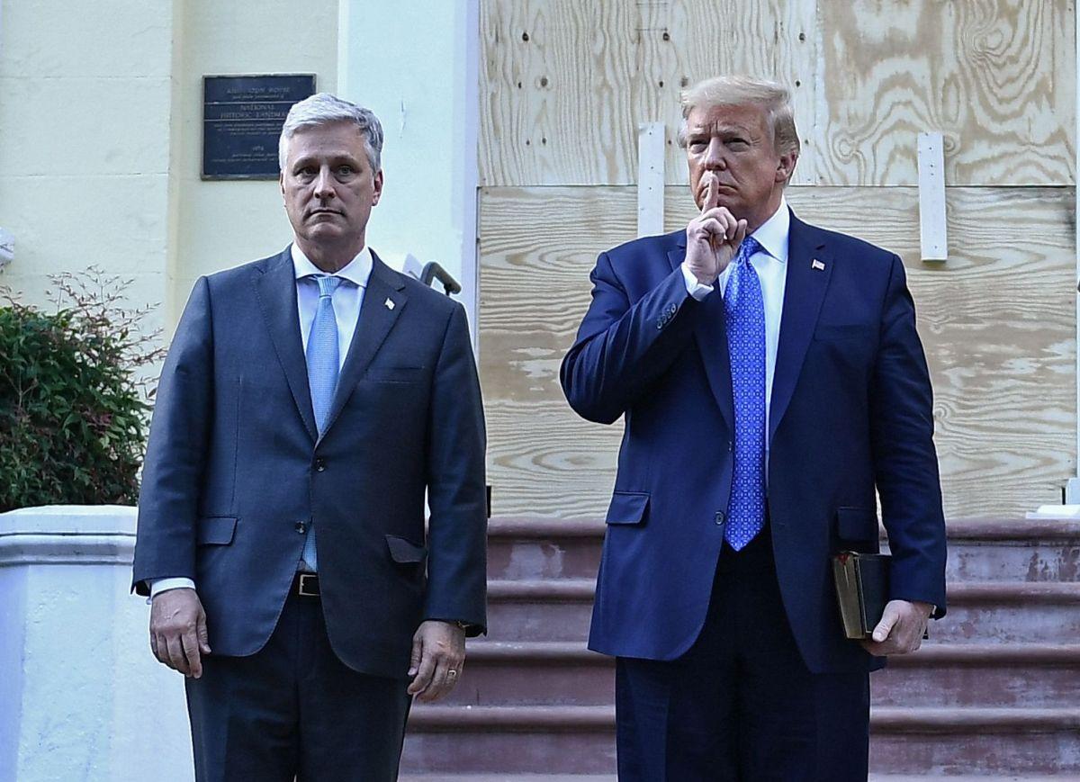 """Trump se resiste, pero su asesor de Seguridad Nacional asegura que habrá una transición de gobierno """"profesional"""""""