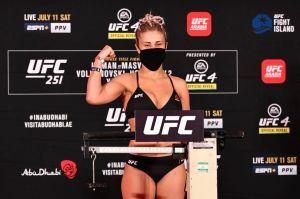 Paige VanZant pierde su pelea en el primer round y se acerca cada vez más a su retiro de la UFC