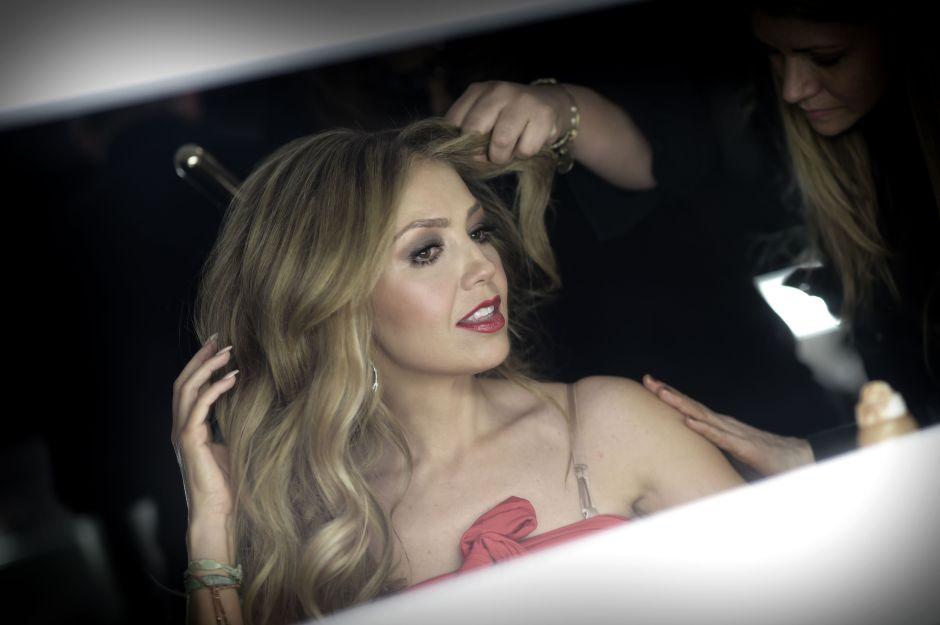 Por este vídeo dicen que Thalía vive crisis de la mediana edad