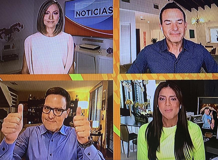 Francisca Lachapel, Satcha Pretto y Raúl González revelan sus resultados del test de COVID-19