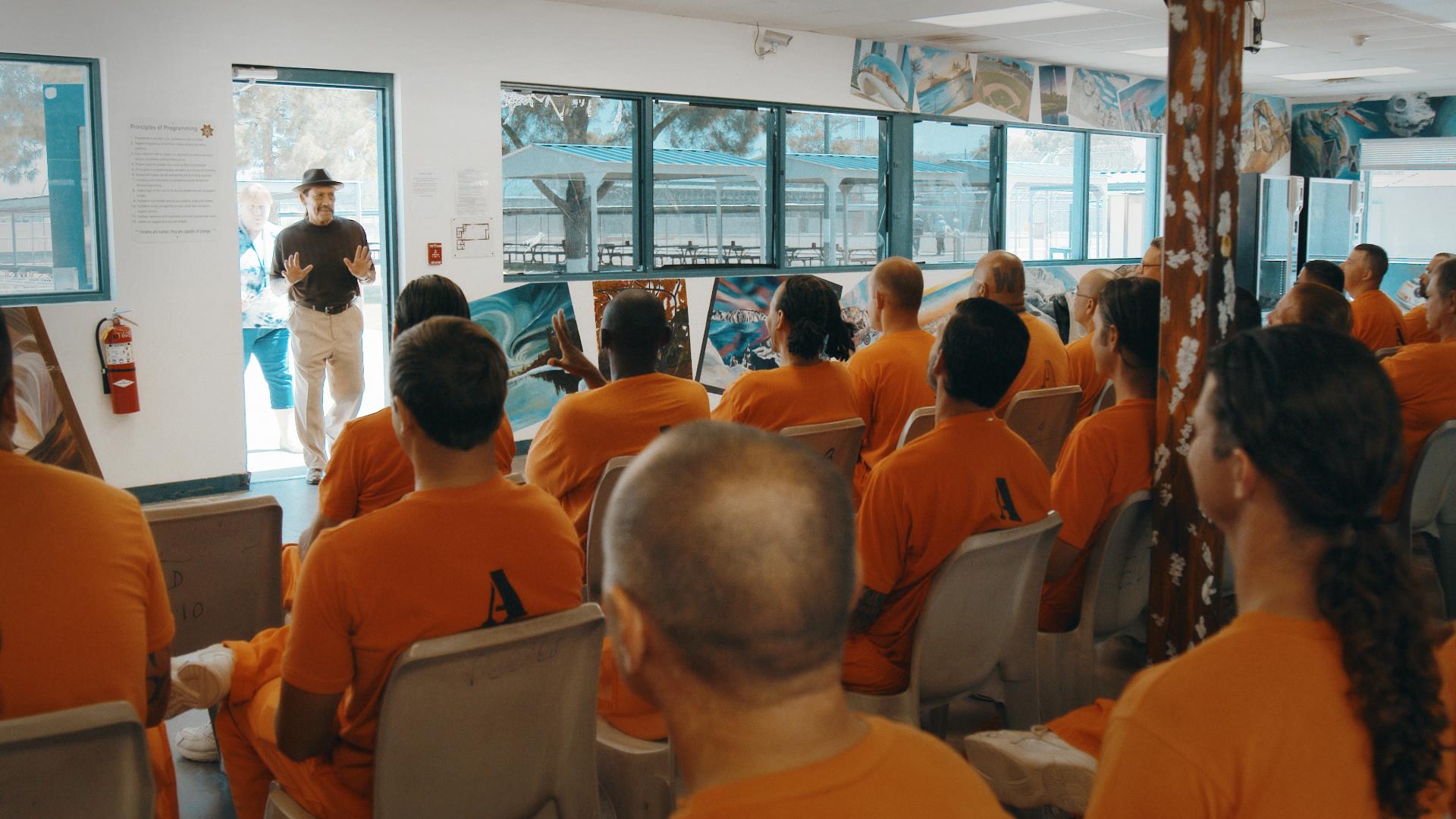 """Trejo dice estar """"en deuda"""" y acostumbra a dar charlas en cárceles por todo el país. / Foto: Universal Pictures"""