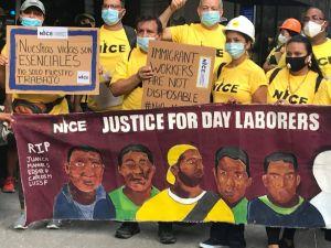 Trabajadores de construcción demandan leyes de seguridad que los protejan