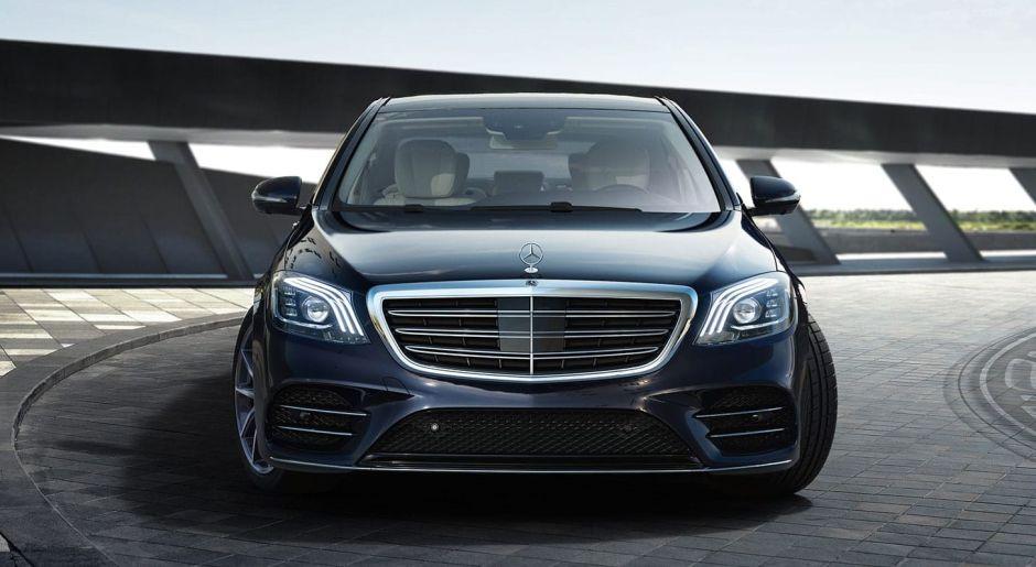El nuevo Mercedes Clase S contará con reconocimiento facial y escáner de huella digital