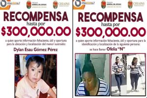 """Todo México busca a Ofelia """"N"""", la mujer que presuntamente se robó al pequeño Dylan Esaú"""