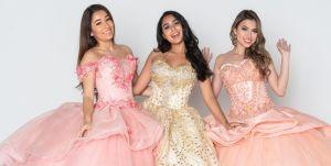 6 diseños de vestidos para una quinceañera veraniega
