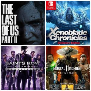 Reseña: The Last of Us Part II, Xenoblade Chronicles: Definitive Edition, Mortal Kombat: 11 Aftermath, Saints Row: The Third Remastered