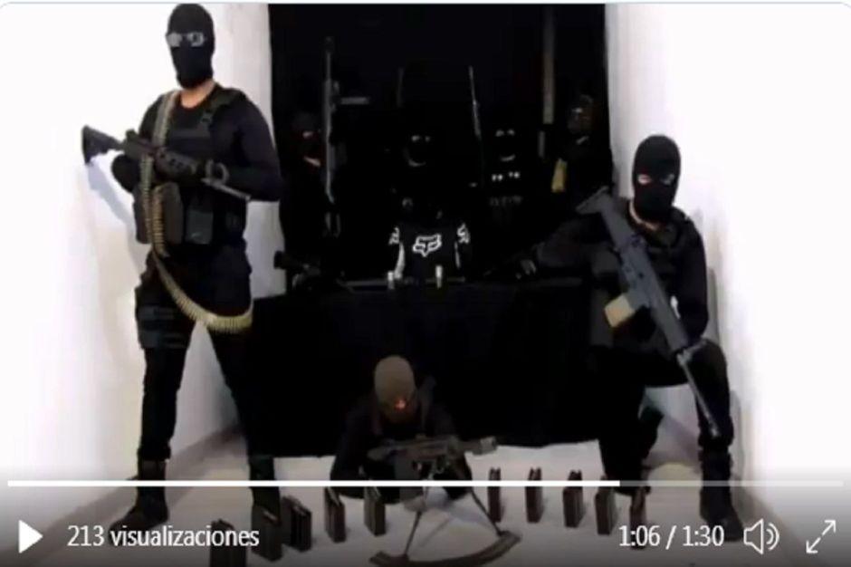 """VIDEO: """"Seguimos buscándote"""", amenazan narcos a Omar García Harfuch"""