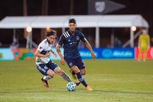 Alan Pulido volvió a anotar y llevó a su equipo a cuartos de final del MLS is Back