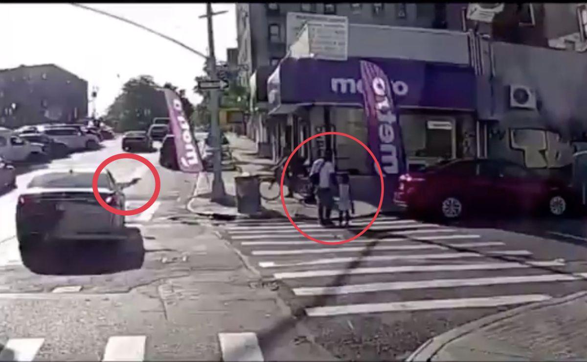 Revelan video de asesinato de hombre en El Bronx mientras caminaba con su hija