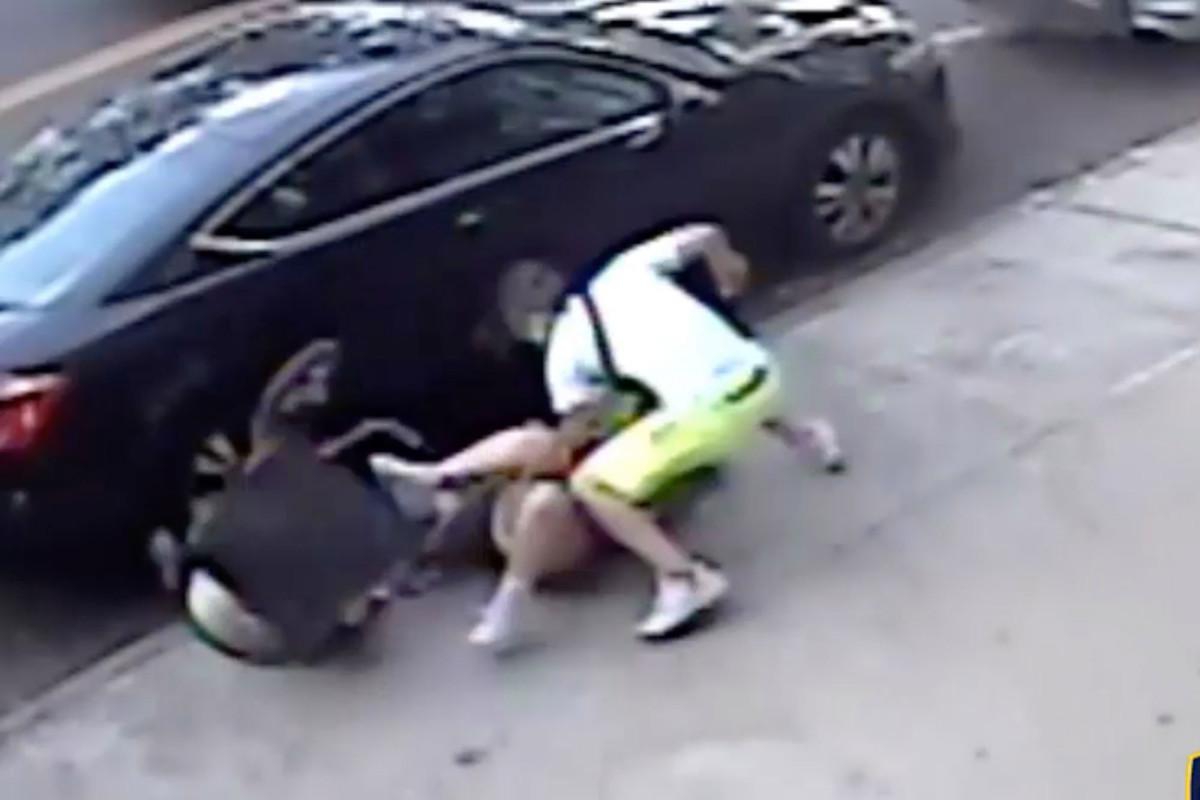 Video grabó a hispano hiriendo gravemente a ex novia y su bebé en plena calle de Nueva York