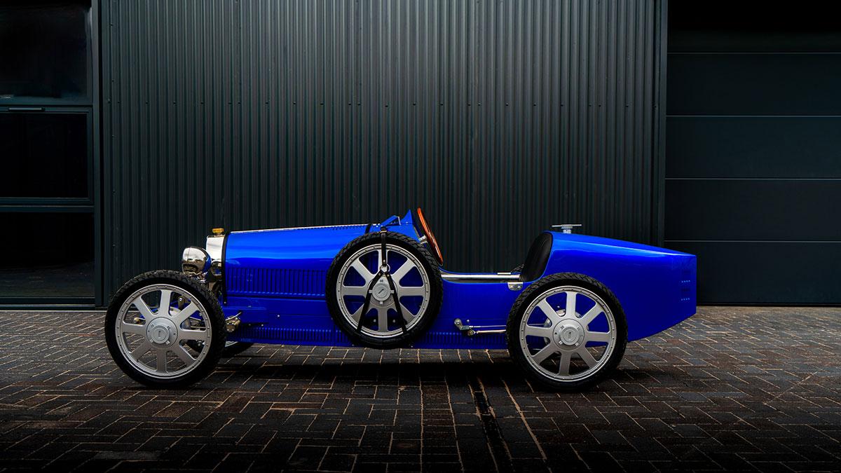 Bugatti vende un coche eléctrico para niños de $35,000 dólares