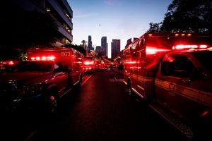 Impresionante incendio en San Francisco acaba con 6 locales comerciales