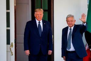 AMLO se reuniría con Trump ante emergencia de agua en norte de México