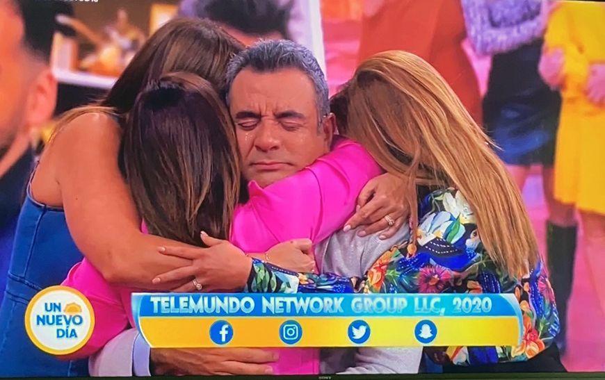 Héctor Sandarti se despide de 'Un Nuevo Día'