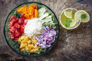 3 nutritivas y ligeras recetas de bowls de arroz