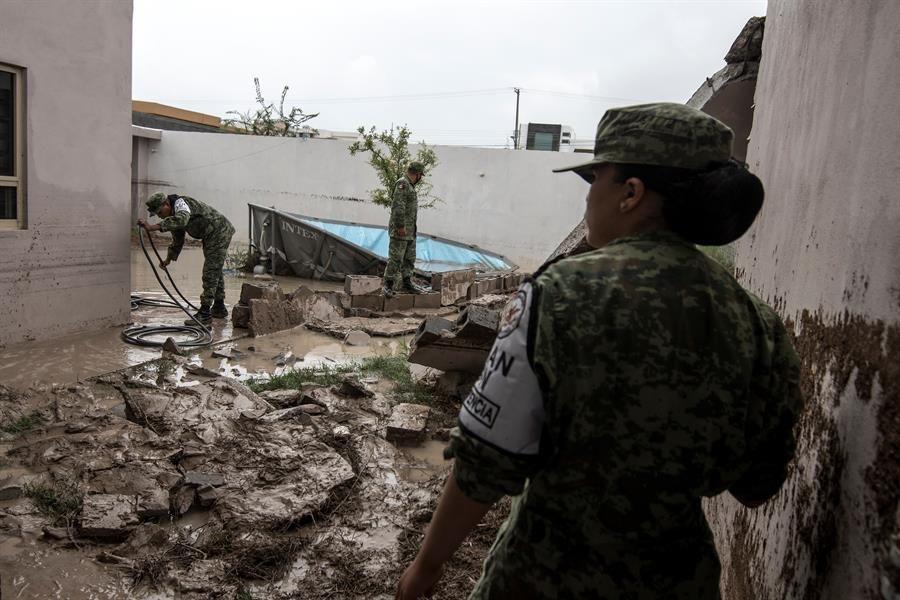 Hanna deja al menos cuatro muertos y seis desaparecidos a su paso por México