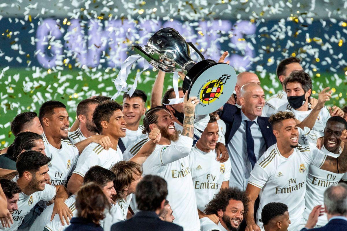¡Saluda al campeón! El Real Madrid consiguió su título 34 de La Liga al derrotar al Villarreal