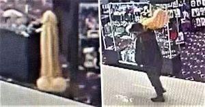 Buscan a ladrón que robó juguete sexual, tamaño gigante, de un sex shop en Las Vegas
