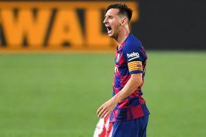 Leo Messi da un fuerte golpe en la mesa del Barcelona para decir ¡aquí mando yo!