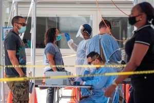 Florida se convierte en el segundo estado en sobrepasar medio millón de casos de COVID-19