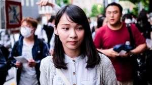 """Quién es Agnes Chow, la """"verdadera Mulan"""" que teme una cadena perpetua por """"luchar por la libertad"""" de Hong Kong"""