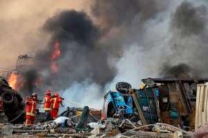 Misil extranjero podría estar tras la brutal explosión en Beirut: Gobierno libanés